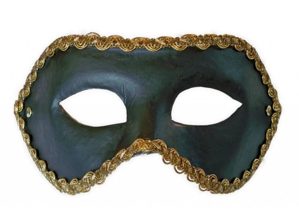venezianische maske schwarz colombina. Black Bedroom Furniture Sets. Home Design Ideas