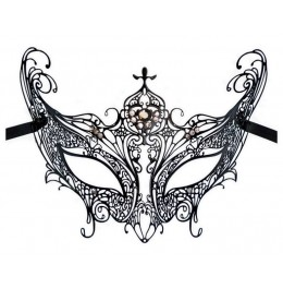 Filigrane Metall Maske 'Grazie'
