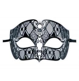 Venezianische Maske aus Metall für Herren