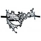 Asymmetrische Maske aus Metall 'Dinora'