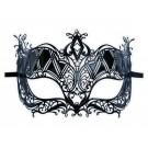 Gothic-Maske aus Metall 'Königin'