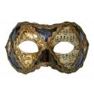 Maske für Maskenball 'Stuck und Noten'