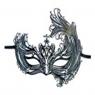 Asymmetrische Maske Filigranes Metall 'Lubia'