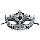 Venezianische Maske Filigran aus Metall 'Nelya'